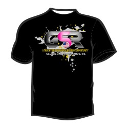 T' SHIRT GSR STIMULATED GRAPHIC DESIGN