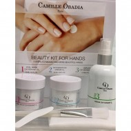 BEAUTY KIT for HANDS by Camille Obadia Paris. 3 products in 1 kit.