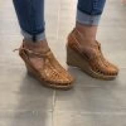 Vanessa Tan Wedge Heels