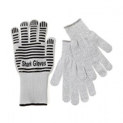 Shark 3pc Heat and Cut Glove Kit