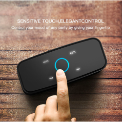DOSS SoundBox Touch Control Bluetooth Portable Speaker