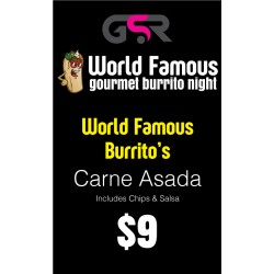 Carne Asada Burrito - PICK UP ONLY