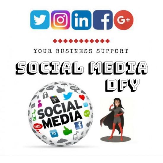 YBS Social Media Posting - 2 New Postings per Week for 1 month