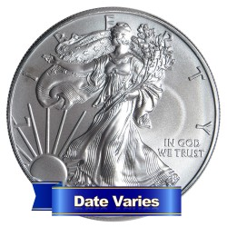 American Silver eagle, Uncirculated 1 troy oz pure silver co