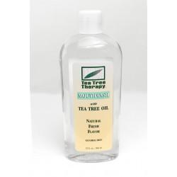 Natural Tea Tree Mouthwash - 12 oz.