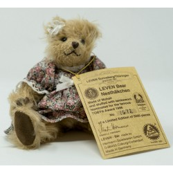 """Nesthakchen""  Award Winning Collectible Mohair Teddy Bear by Leven &  Hermann of Germany"