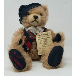 """Old Heidelberg""  Collectible Teddy Bear by Hermann Made in Germany"